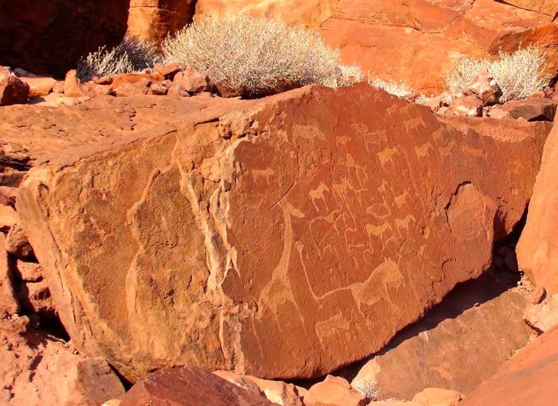 6000 Jahre alte Graffiti