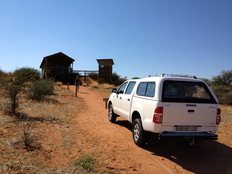 Unsere Zelthütte